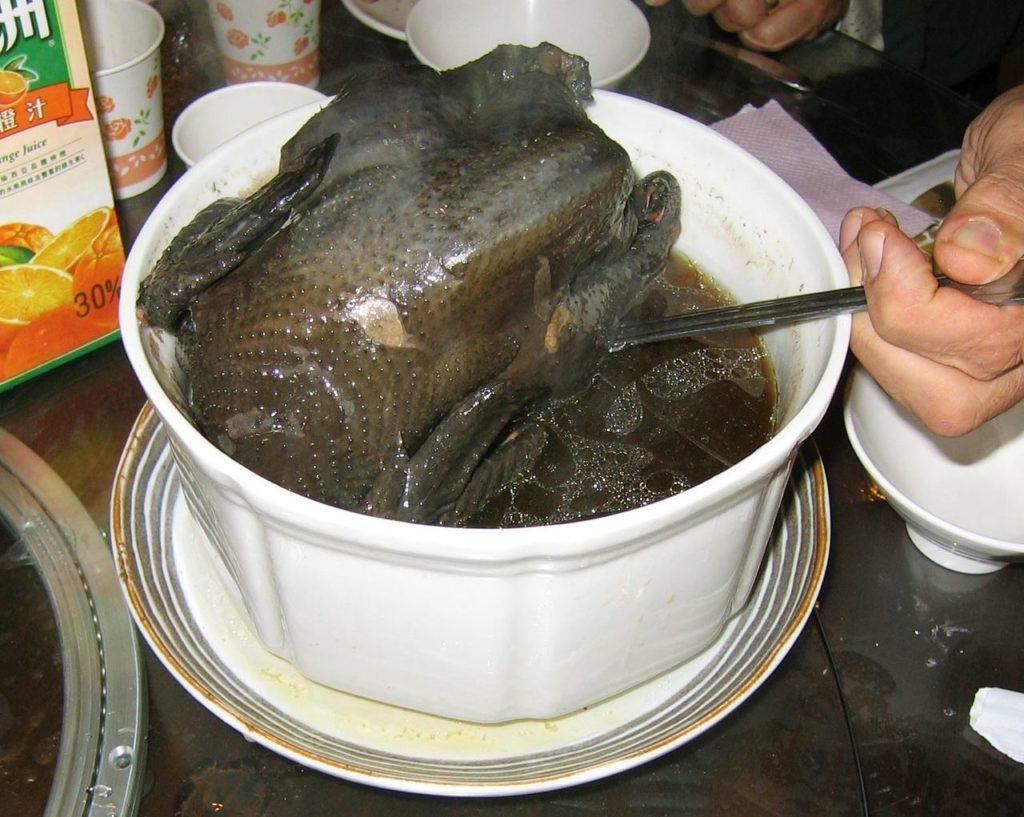 Мясо шелковых кур