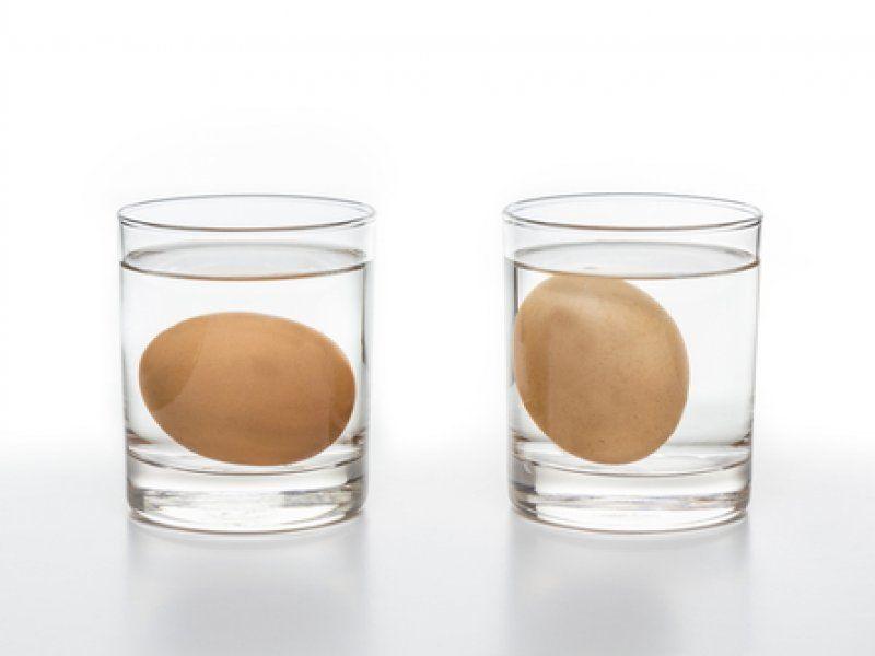 Яйца в солевом растворе