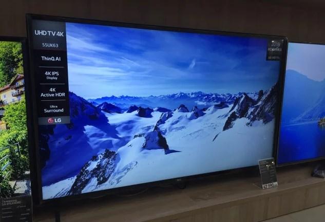 Телевизор LG 55UK6300 с 4K Active HDR
