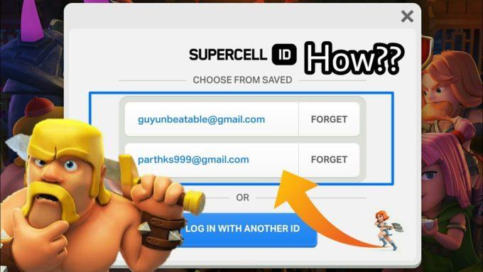 Система учетных записей Supercell