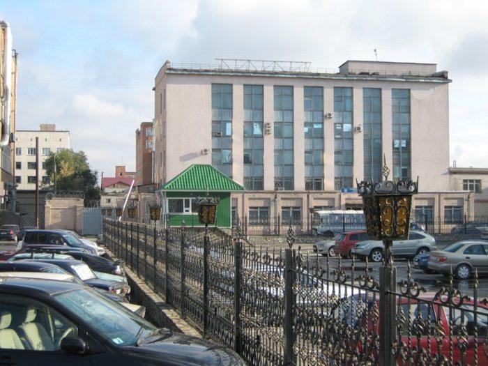 Прижелезнодорожный почтамт в Челябинске