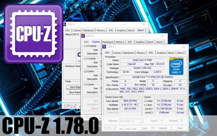 Программа CPU Z для настройки процессора