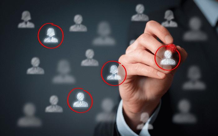 Выделение определенных групп потенциальных покупателей