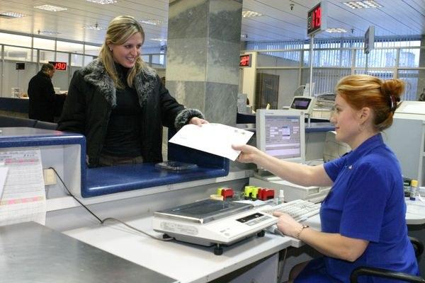Получение корреспонденции в отделении Почты России