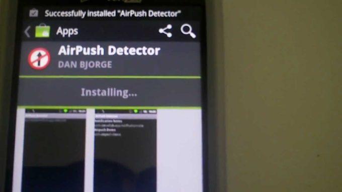 Airpush Detector для Android