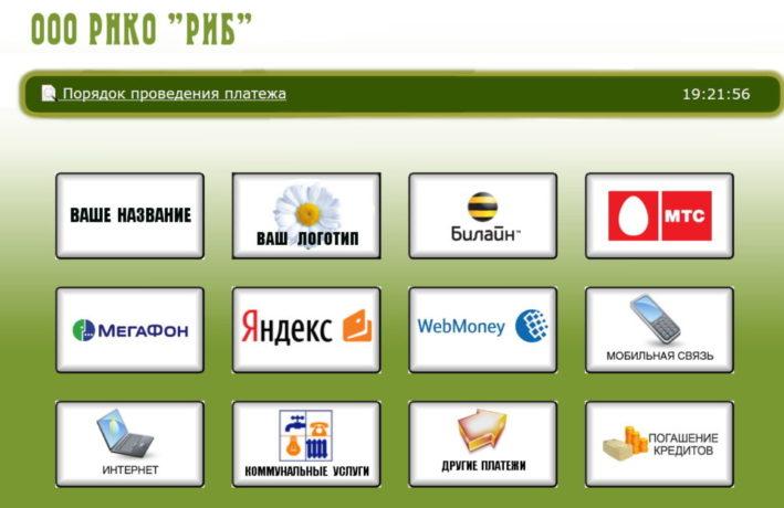 Денежные переводы через ООО РНКО РИБ