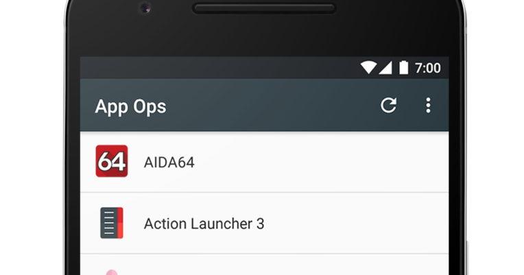 Управление приложениями с помощью App Ops