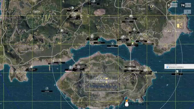 В Unknown Battlegrounds есть возможность создавать собственные карты