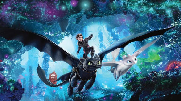 Мультфильм Как приручить дракона 3: Скрытый мир