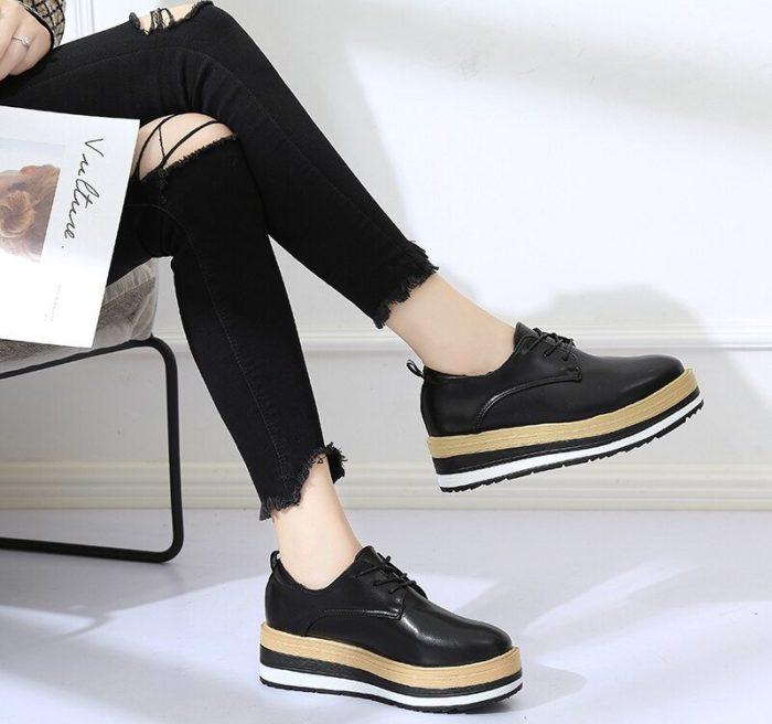 Обувь на толстой подошве