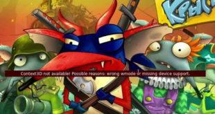 Появление ошибки во Flash играх