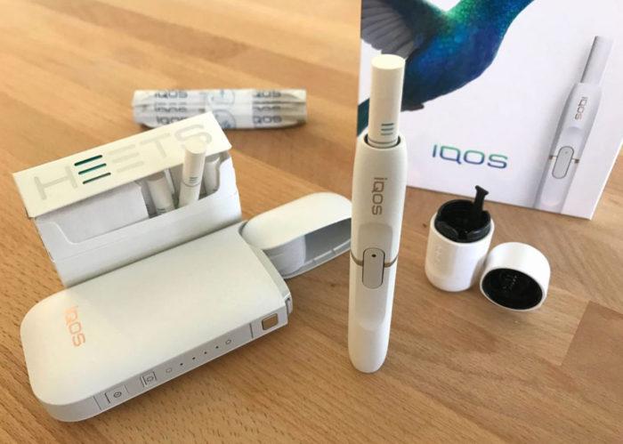 Особенности электронных сигарет IQOS