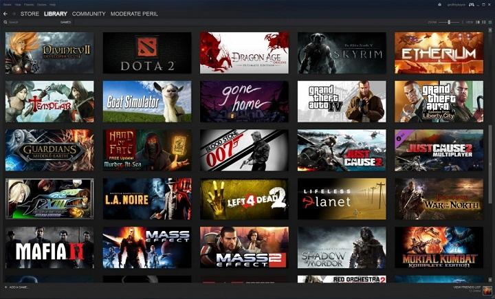 Видеоигры в Steam