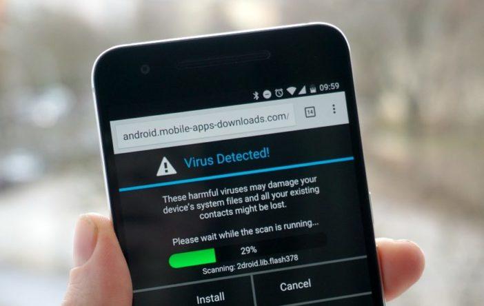 Обнаружение вируса на устройствах Андроид
