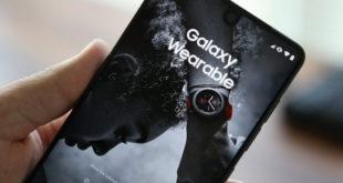Приложение Samsung Galaxy Wearable для смартфонов