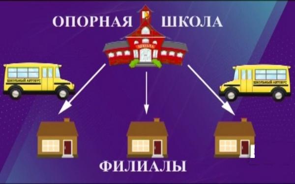 Структура опорных школ РАН