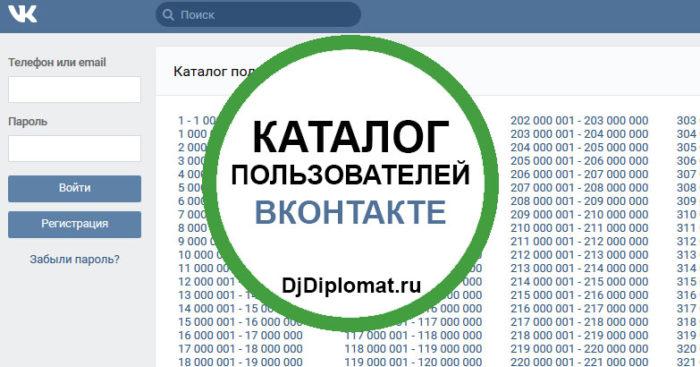 Альтернативный каталог пользователей