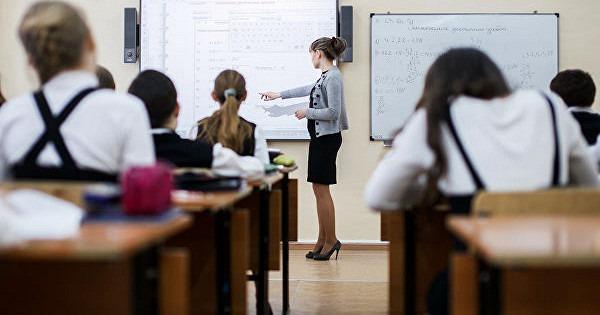 Процесс обучения в опорной школе