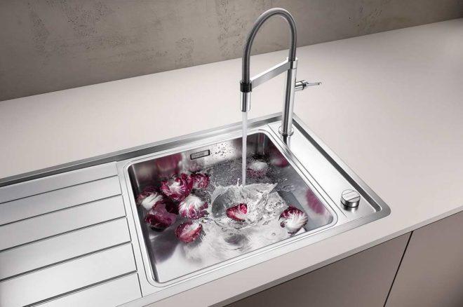 Использование клапана-автомата для кухонной мойки