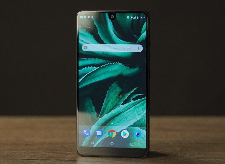 Внешний вид смартфона Essential Phone PH-1