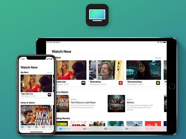 Apple ТВ позволяет смотреть терепередачи и кинофильмы на различных устройствах