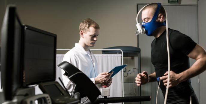 Измерение максимального потребления кислорода в лаборатории