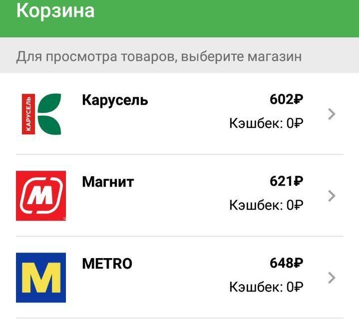 Мобильное приложение Сравни цены