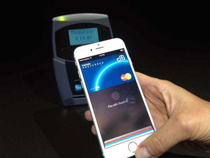 Оплата покупок с помощью Apple pay