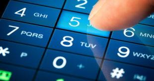 Набор телефонного номера