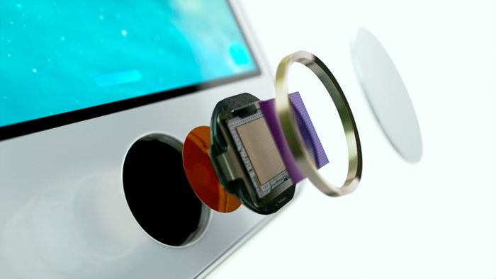 Touch ID встроен в кнопку Айфона
