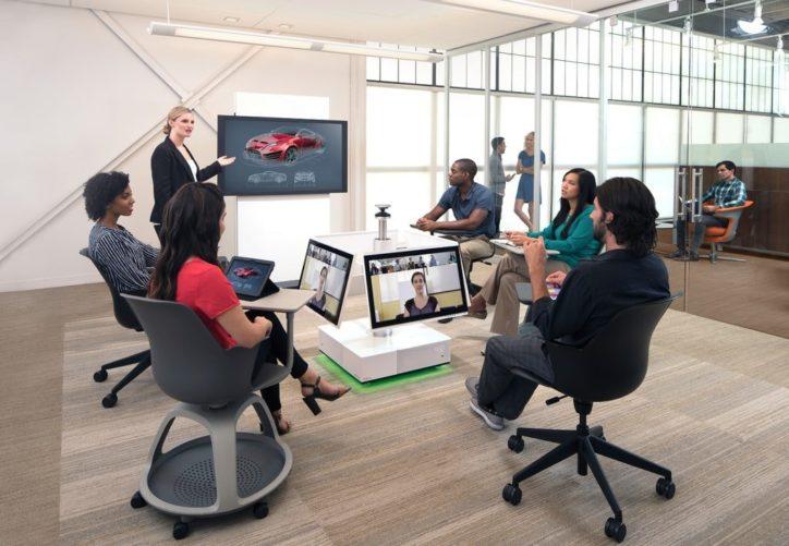 Видеоконференция с помощью Workspace