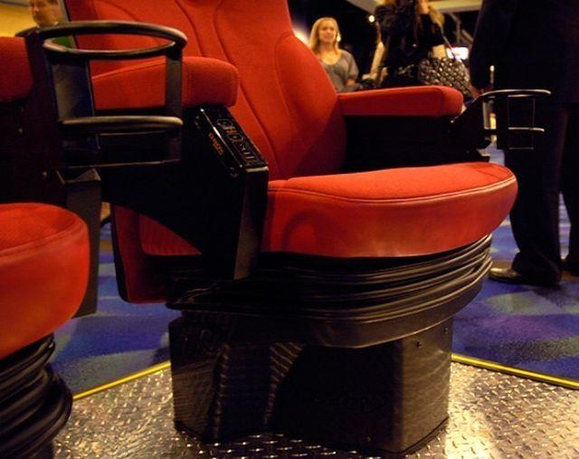 Многофункциональное кресло для d-box 3d кинотеатра