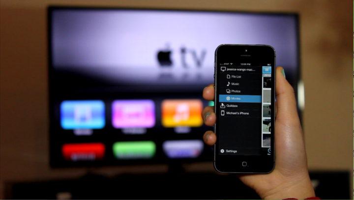 Просмотр фильмов с айфона на телевизоре