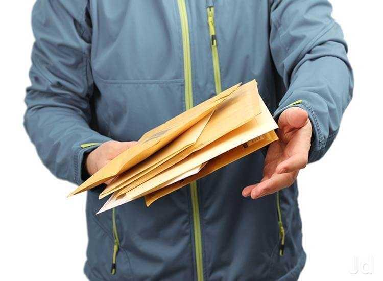 Отправка писем через почтовую службу Веди-Пост