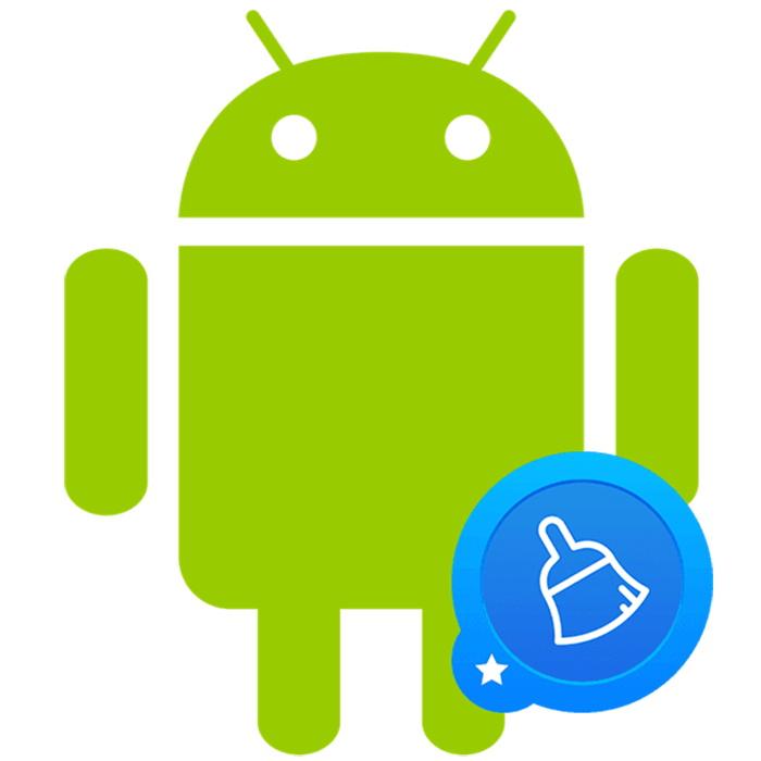 Приложение запускает чистку кэша на смартфоне