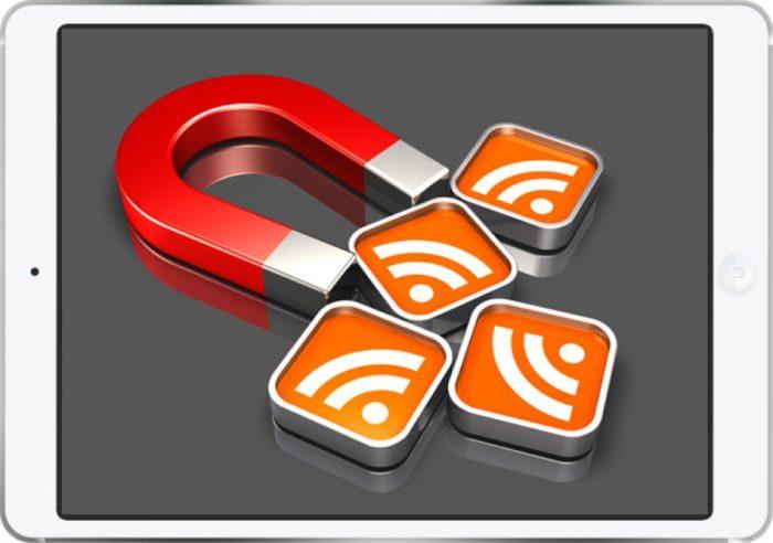 Информационная лента для повышения посещаемости сайта