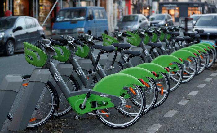Компания по прокату велосипедов Velib