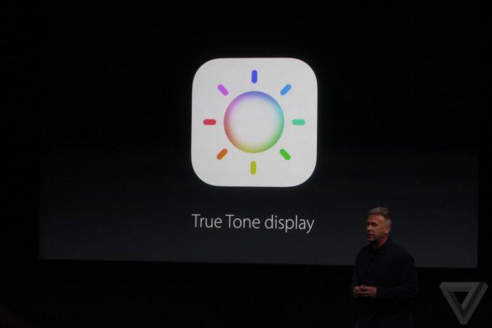 Технология True Tone разработана для дисплеев различных устройств