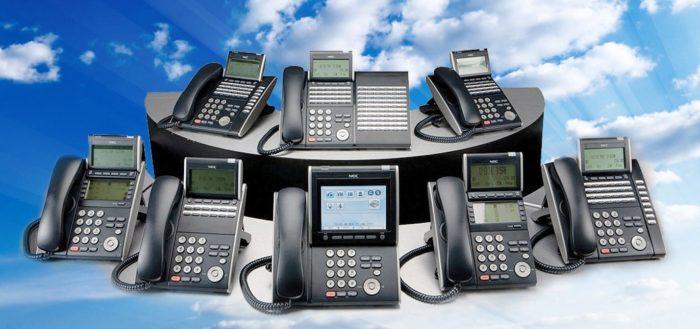 Подключение телефонов в офисе