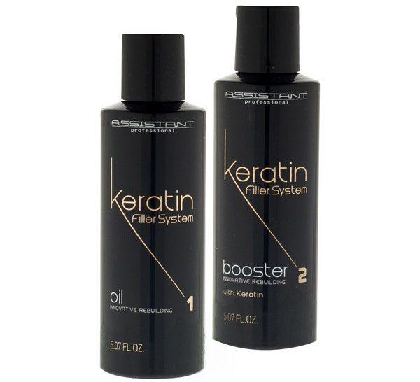 Кератиновый бустер для волос