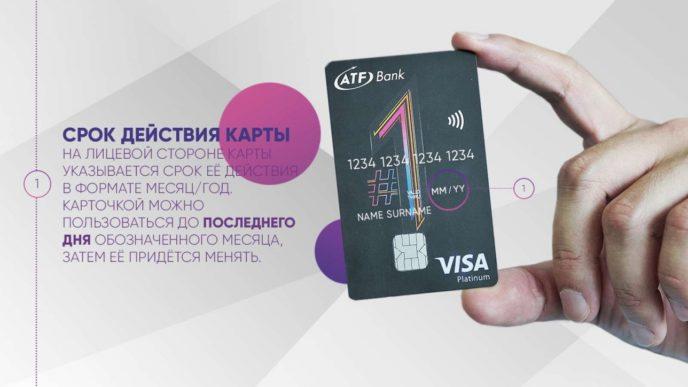 Срок действия банковской карты