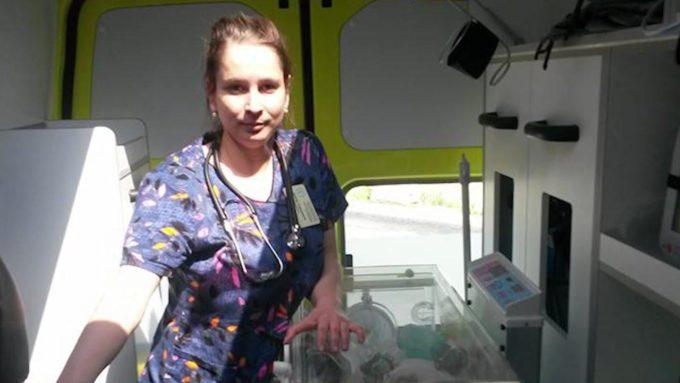 Врач неонатолог Элина Сушкевич