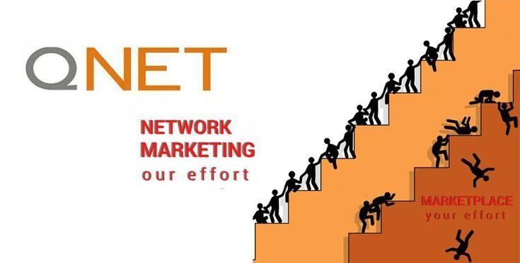 Рекламные материалы Qnet