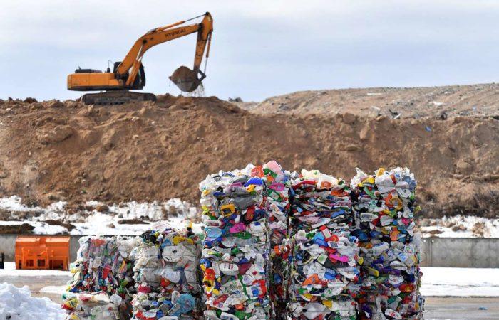 Полигон складирования отходов в Югре