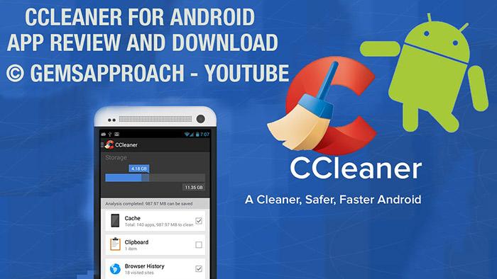 Приложение CCleaner для смартфона