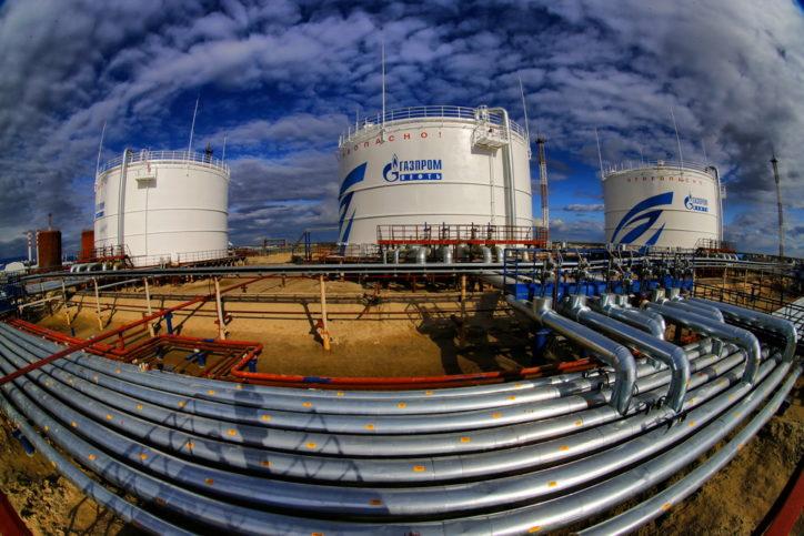 Новопортовское месторождение Газпромнефть