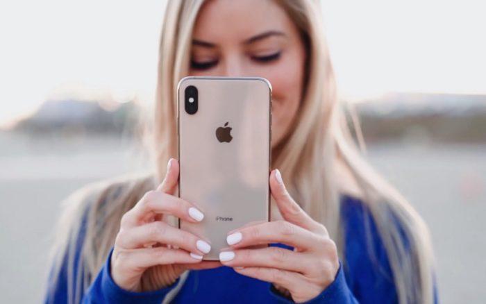 Создание селфи на смартфоне