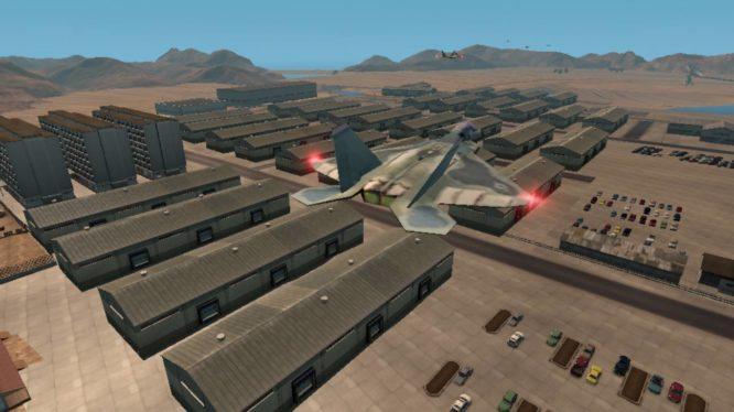 Секретная база США зона 51 в игре GTA5