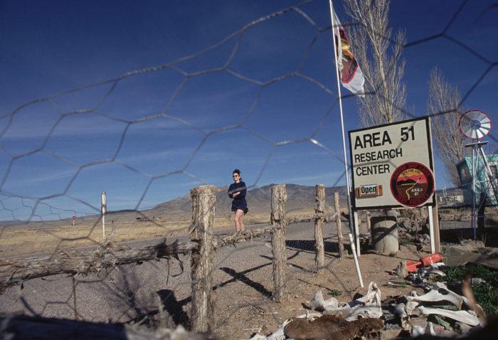 Зона 51 это военная база в Неваде