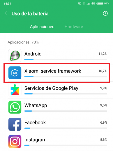 Xiaomi-Service-Framework-расходует-батарею